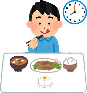 検査前日の食事