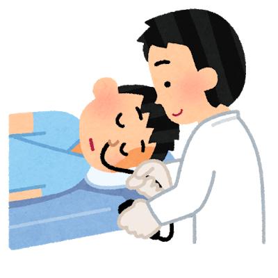 検査当日の喉の麻酔
